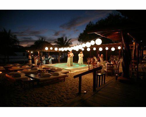 boda en la playa de noche lujosa , Buscar con Google