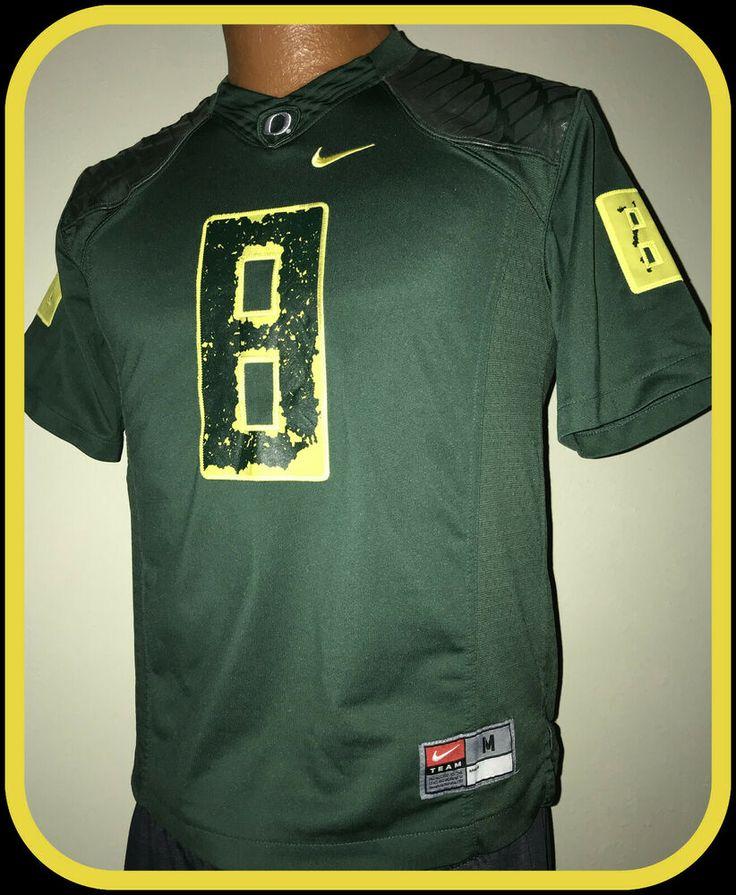 Oregon ducks nike stitched football jersey youth medium