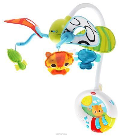 """Tiny Love Музыкальный мобиль Игра в прятки  — 7116р. ----------- Если вы хотите надолго отвлечь ребенка от капризов и плача, привлеките его внимание к музыкальному мобилю Tiny Love """"Игра в прятки"""". Достаточно только прикрепить его к кроватке и активировать, как перед глазами малыша будут сменяться друг с другом яркие мягкие игрушки в виде забавных животных, а с наступлением темноты изделие можно использовать в качестве ночника, который убаюкает и успокоит кроху приятными мелодиями и…"""