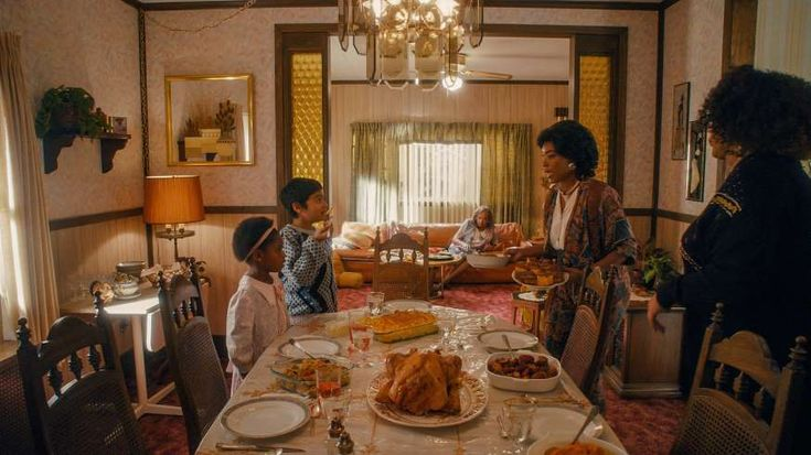 """Greatest TV moments of 2017  -  December 5, 2017:  """"MASTER OF NONE"""" MADE EMMY HISTORY  - Lena Waithe, who co-wrote the unforgettable Season 2 """"Thanksgiving"""" episode of """"Master of None"""" with Aziz Ansari, was the first black woman to win an Emmy for best comedy series writing. """"Thanksgiving"""" featured Denise's holiday celebrations with her family from the early 1990s to the present as she continued to understand her sexuality.  MORE..."""