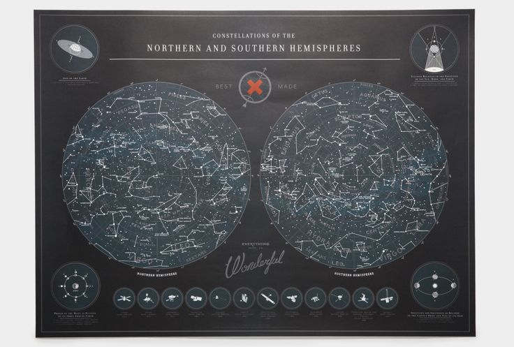 Map of the Constellations