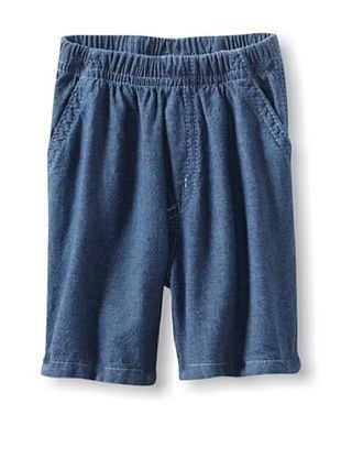 61% OFF Charlie Rocket Baby Chambray Short (Ink)