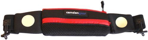 Running Belt by Camden Gear. Red with Waist Pack for Cell Phones and Keys. Fits the iPhone 5, Android, Samsung Galaxy S4, HTC One X. Includes Clip Fastener to Hold Gel Packs and A Runner's Bib. Ideal for Men and Women. QA Pro,http://www.amazon.com/dp/B00H1RC3RS/ref=cm_sw_r_pi_dp_nZaatb07ASERBAZC