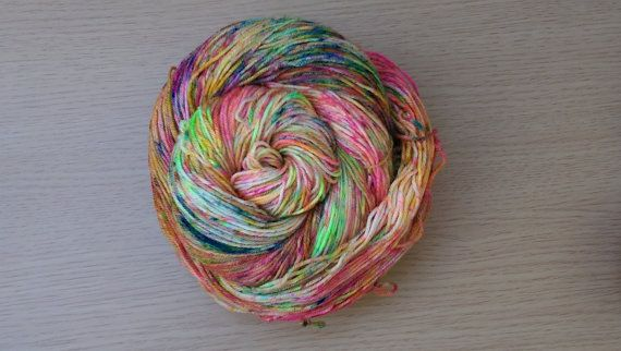 Ready to ship! 4-ply fingering weight yarn  Approximately 460 yds  Recommended…