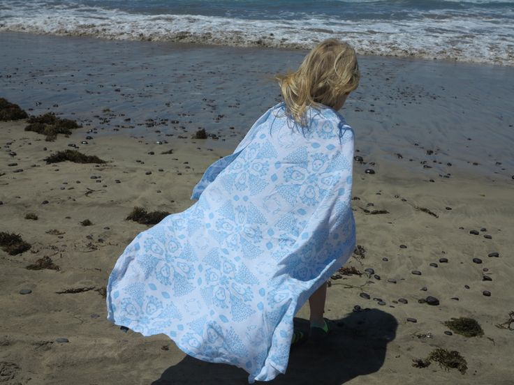 We been off for short break in #lanzarote #spain our bamboo #blanket is still useful even for 4 year old #kid  #sea