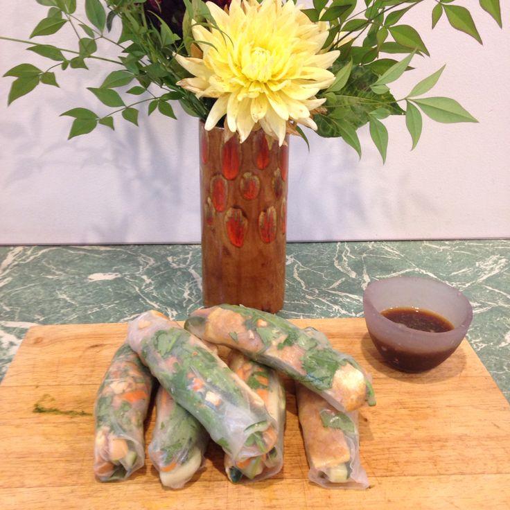 Vietnamese Rice Paper Rolls  @iquitsugar #iqs8wp