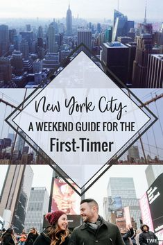 New York City, Weekend Guide, NYC Travel Guide, New York City First Timer, First Trip to NYC, Weekend Getaway, things to do NYC #NYC #NYCguide #NYCweekend