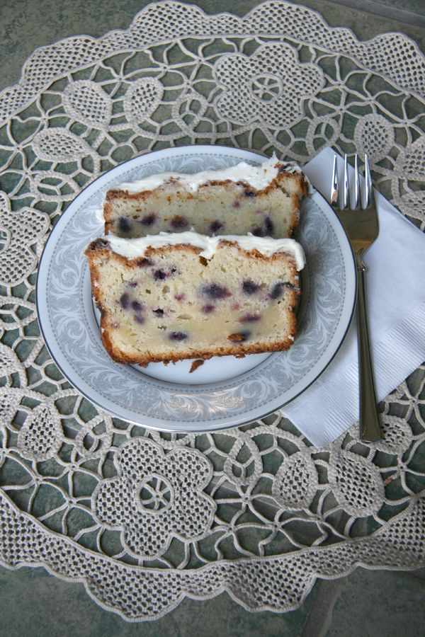 Blueberry Lime Pound Cake made from our Blueberry Muffin Mix. See ...