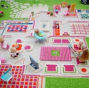 LOVE the 3D Playing Families rug . The big size even has a pool !