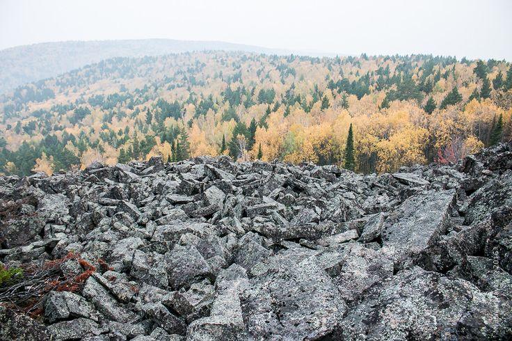 Черная сопка - вулкан в Красноярске