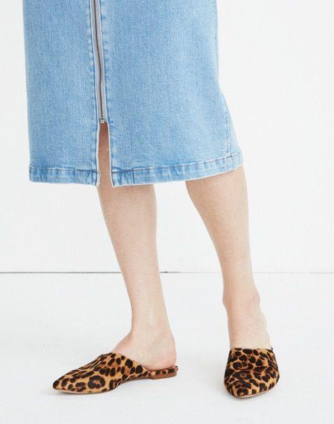 344fad4a7d38 The Remi Mule in Leopard Calf Hair   Shoes   Calves, Fashion, Shoes