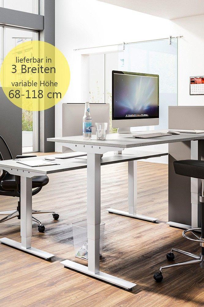 start.now von Röhr-Bush - elektrisch verstellbarer Schreibtisch ...