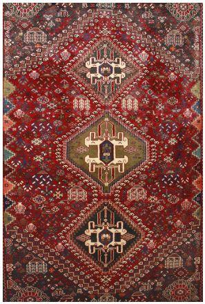 Tribal Persian Superb intricate weave, geometric nomadic motif. Finely spun wool pile  organic dyes.  #nomadicrugs #persianrugs