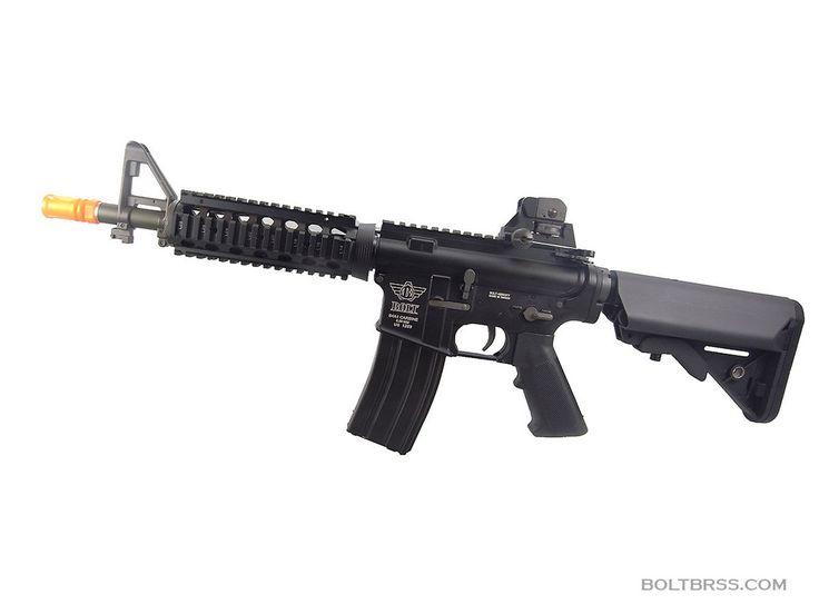 BOLT B4 SOPMOD SHORTY B.R.S.S. AEG Rifle Airsoft Gun  2015 Enhanced Version BOLT 1 PIECE STEEL ENHANCED SPUR GEAR