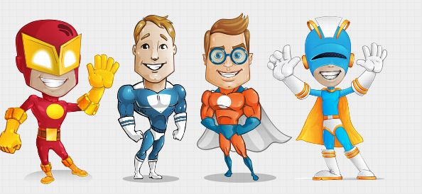 superhero clipart free download - photo #41