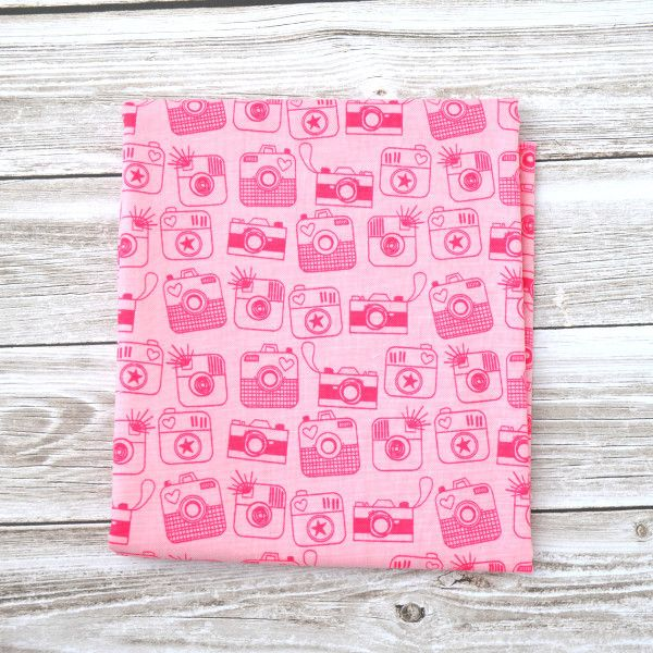 Snapshot Cameras in Pink - Dragonfly Fabric Canada