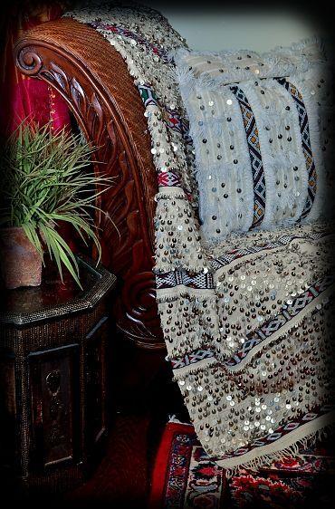 Moroccan Wedding Blanket Sultana