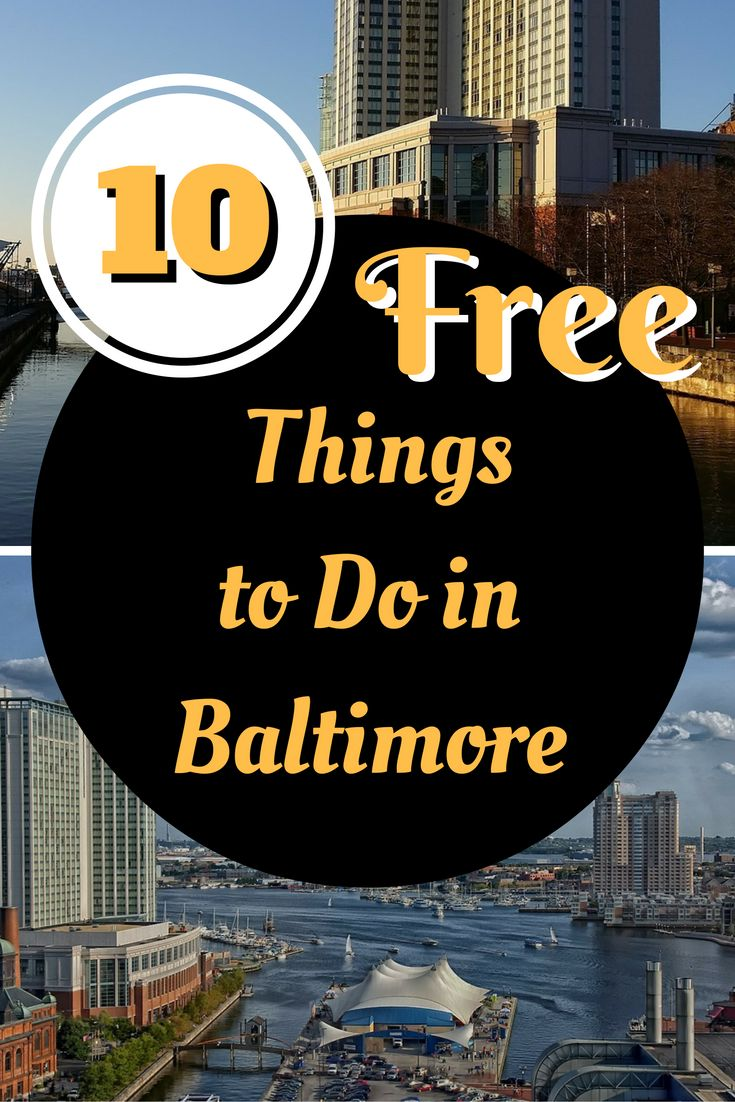 10 Free Things to Do in Baltimore Maryland with kids