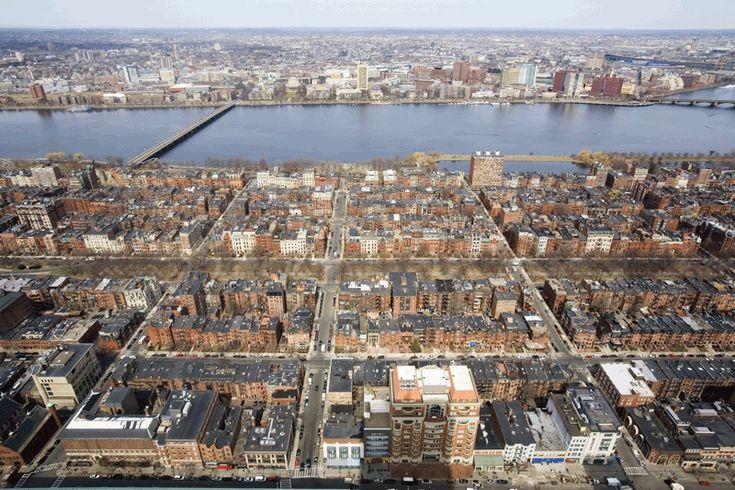 The Back Bay, Boston MA