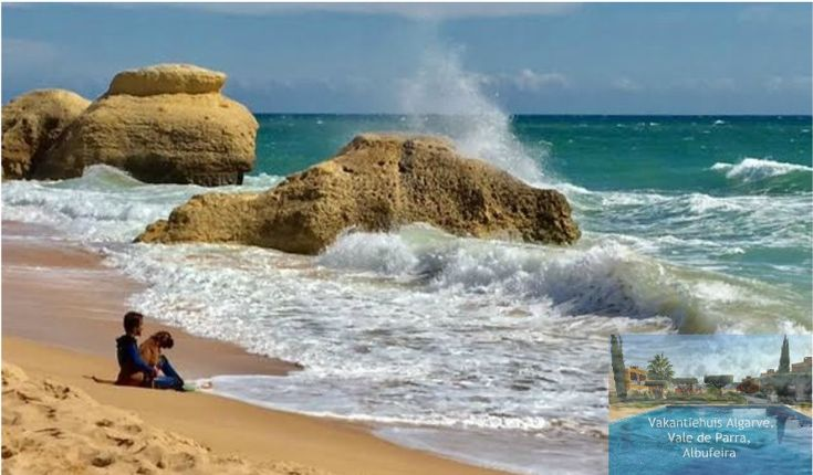VakantiehuisAlgarve is a comfortable 2 bedroom holiday apartment located 2.3 km from beautiful Galé beach and 1.2 km from Salgadosgolf, offering accommodation in Vale de Parra, Albufeira in the Algarve, Portugal. On this picture you see Galé beach -west-