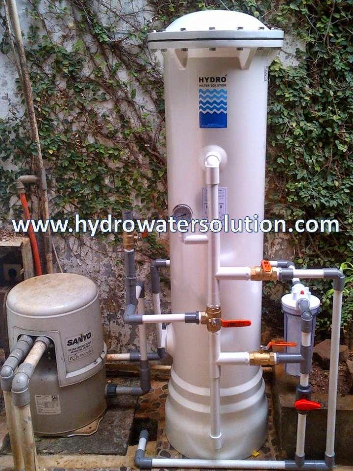 Lima Keunggulan Filter Air HYDRO  Pemasangan Filter Air HYDRO kali ini di daerah KAV DKI meruya selatan. Permasalahan yang dikeluhkan yaitu airnya yang berwarna kuning,keruh dan berbau. Filter Air HYDRO menggunakan teknologi yang modern dan bahan baku yang berkualitas mampu mengatasi masalah air dengan baik. Air yang di lewati oleh Alat Penjernih Air HYDRO dapat langsung di gunakan dan hasilnya sesuai dengan standar air bersih.