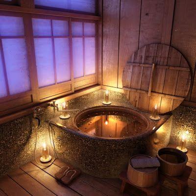 A farmok ihlette rusztikus fürdőszoba biztos, hogy mindenkit romantikus hangulatba hoz.