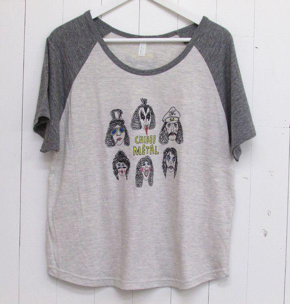 メタルファン必見!chibee METALのWORLD WIDE TOUR T-shirt!!!ラグランスリーブ(こちらはLady'sになります)カ...|ハンドメイド、手作り、手仕事品の通販・販売・購入ならCreema。