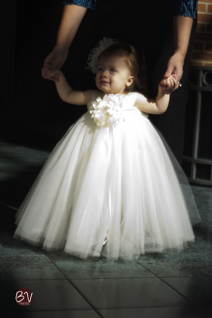 Home Made Baby Dress Made From Ribbon And Tulle Diy Baby
