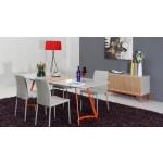 Vig Furniture - Modern Grey Ash Dining Table - VGGU2635XT   SPECIAL PRICE: $1,239.00