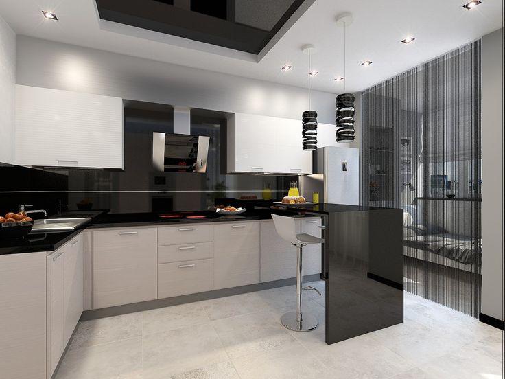 кухня в квартире-студии - ALNO. Современные кухни: дизайн и эргономика | PINWIN - конкурсы для архитекторов, дизайнеров, декораторов