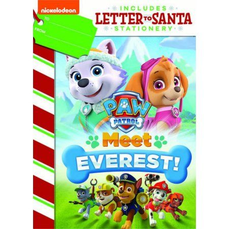 Paw Patrol: Meet Everest (DVD + Letter To Santa Stationary)
