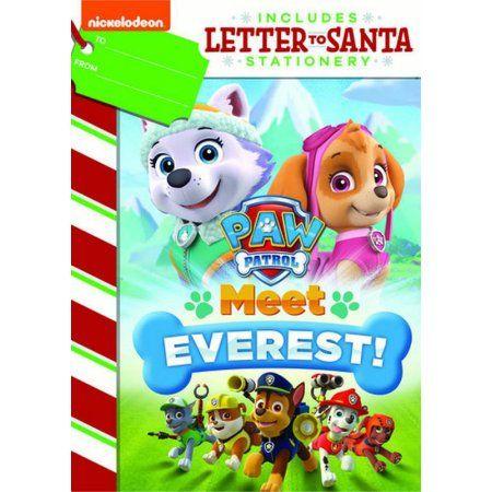 Paw Patrol: Meet Everest (DVD + Letter To Santa Stationary)