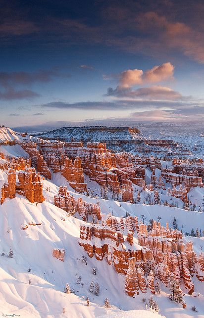 Morning Light - Bryce Canyon National Park, Utah by Jeremy Pierce on Flickr.