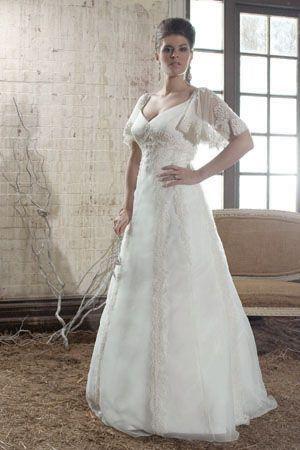 150 best plus size wedding dress images on pinterest for Plus size celtic wedding dresses