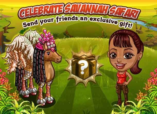 Savannah Safari: Neighbor Gifting #1