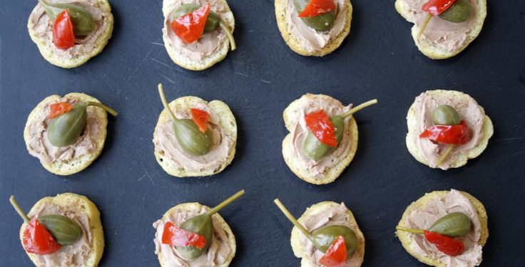 Best ever quick and easy party canap s party canapes for Quick and easy canape ideas