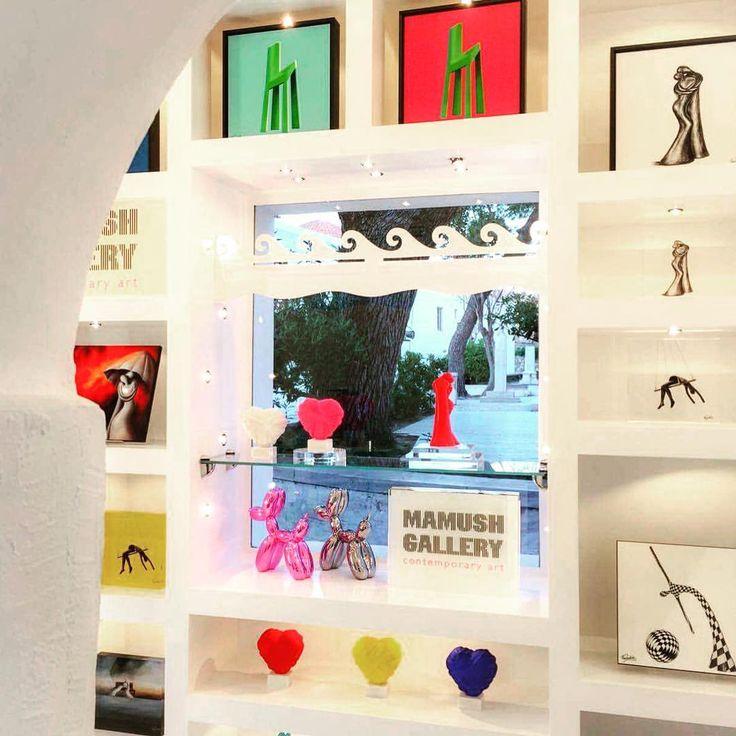 Mamush Gallery @Melissa store Paroikia-Paros Greece