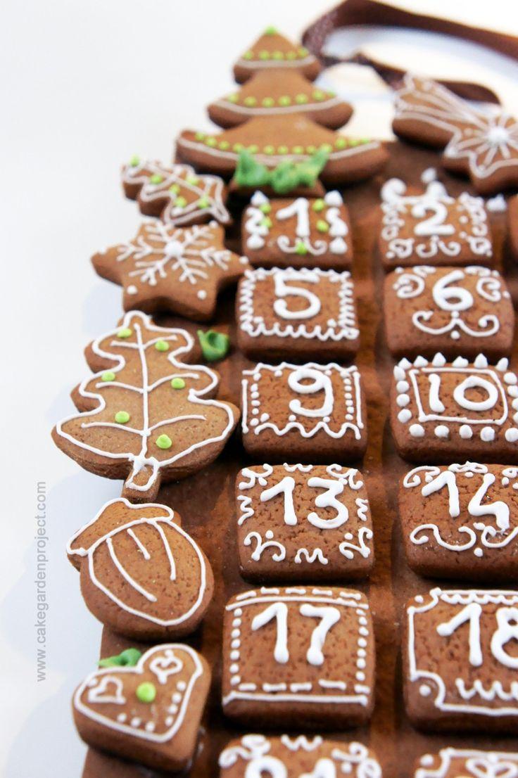 calendario dell'avvento 2015 Natale, Avvento e Biscotti
