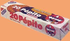 Le vieux packaging Pépito