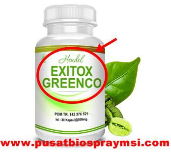 exitox,exitox green coffee,hendel exitox greenco