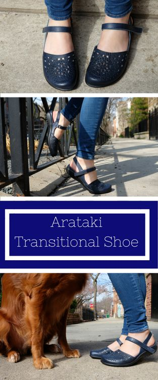 The Naot Arataki is a great transitional shoe for in between seasons!