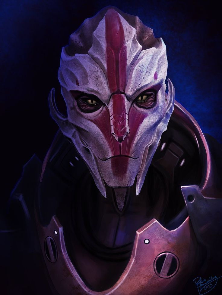 Turian Huntress Nyreen Kandros.