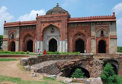Purana Qila ( Old Fort) of Delhi from Wikipedia