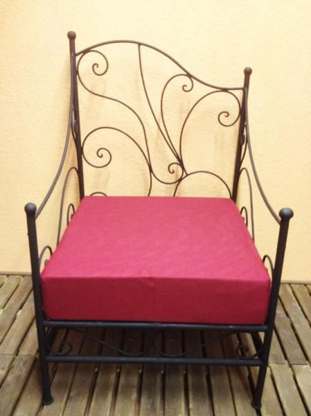 Fresh Orient Marokko Marokkanischer Schmiedeeisen Gartensessel Sessel Gartenm bel NEU eBay