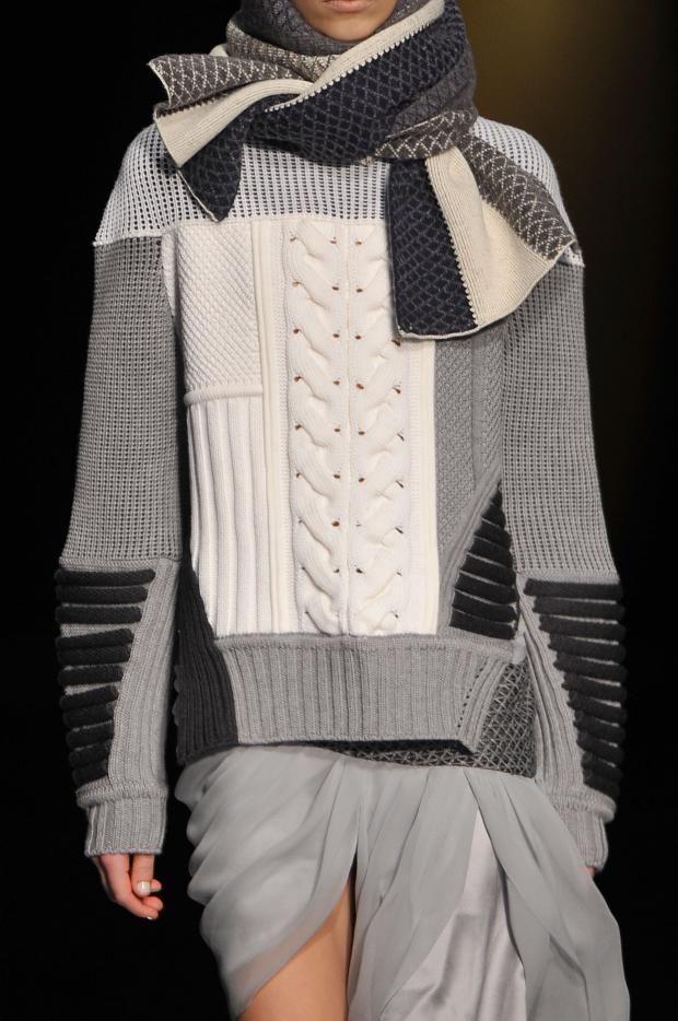 monsieurwintour:  girlannachronism:  Prabal Gurung fall 2014 rtw details  I love knitwear so much