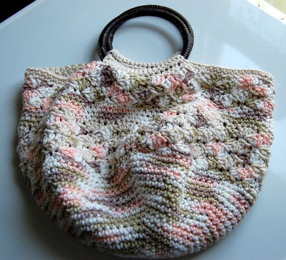 My Crochet Cotton Handbag