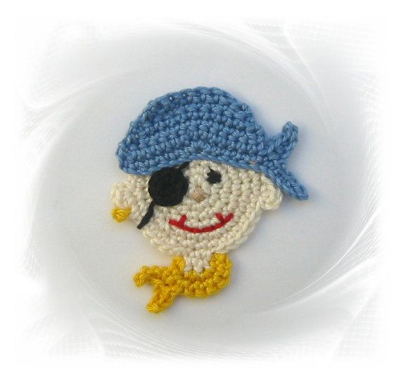 Patch pirate, crochet pirate, crochet, pirate application, application for…