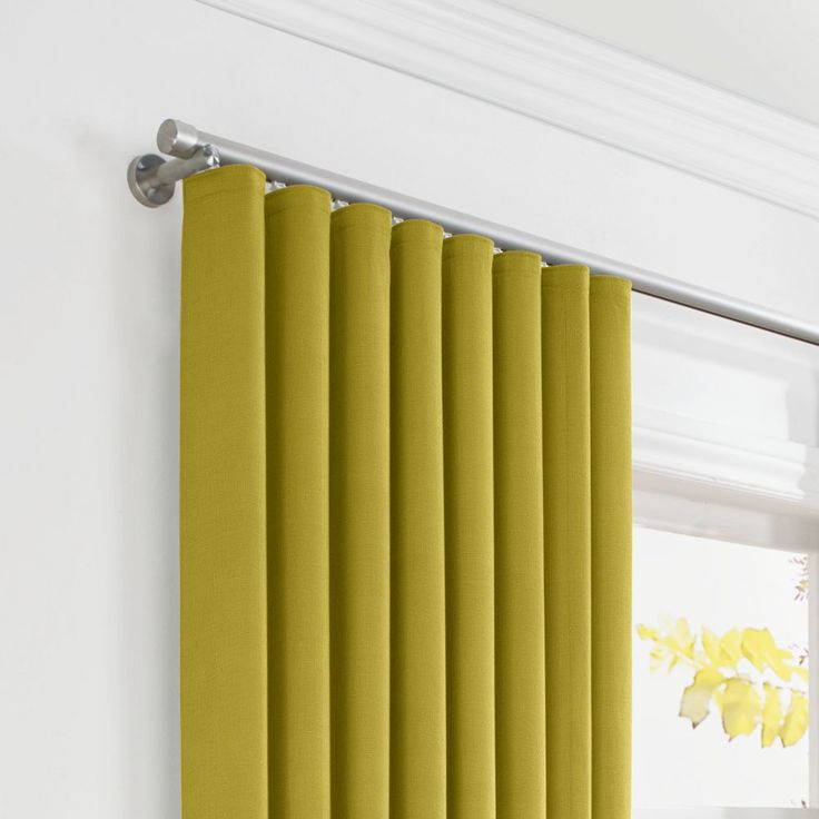 Ripple Fold Curtains Much Cleaner And More Modern Than Grommet