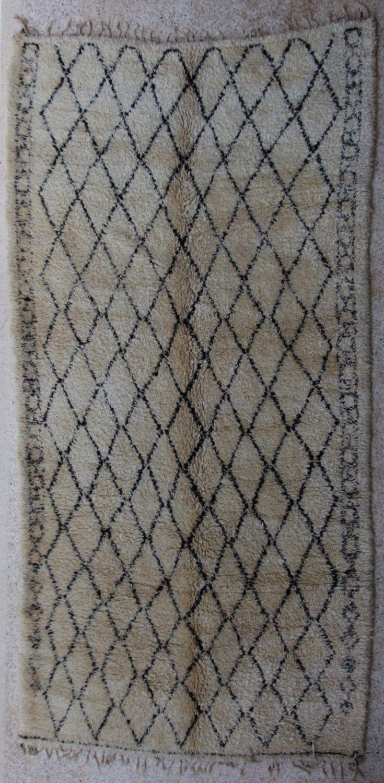 Marruecos de vintage alfombra bereber de Beni Ourain BO27664 Beniourain, Beniouarain, beni ouarain de BOUCHEROUITE en Etsy https://www.etsy.com/es/listing/241035409/marruecos-de-vintage-alfombra-bereber-de