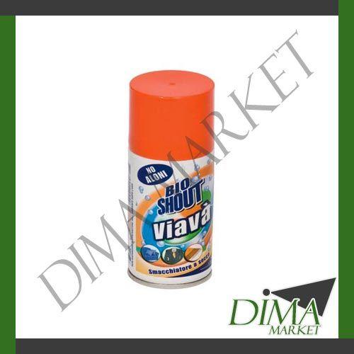 VIAVA' BIO SHOUT SMACCHIATORE A SECCO SPRAY 150ML  ABITI TAPPETI DIVANI http://stores.shop.ebay.it/DIMA-MARKET